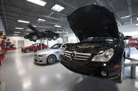 Why is it important to have your Mercedes maintained by a trained technician